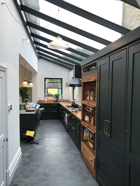 Roof Lantern Kitchen