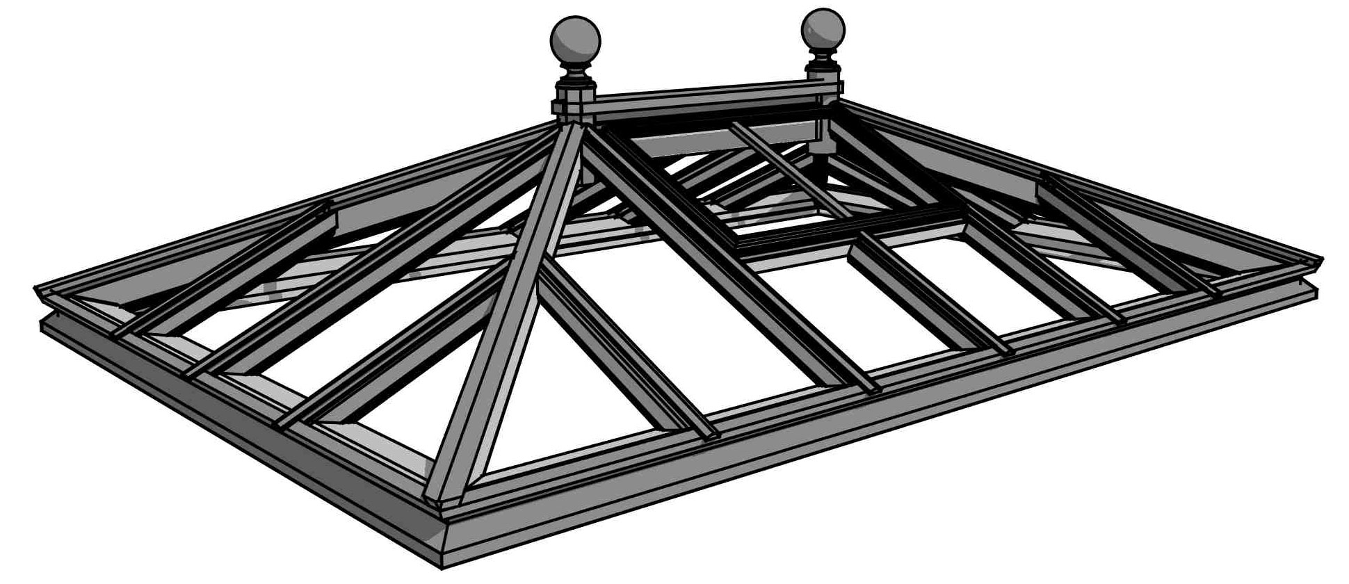 Just Roof Lanterns Classic Collection of Roof Lanterns