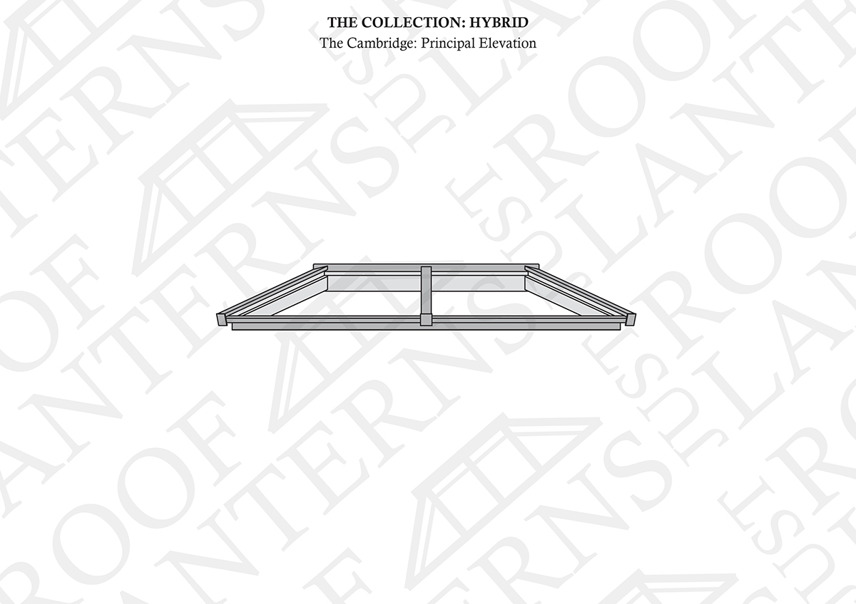 Principal Elevation of The Cambridge Roof Lantern