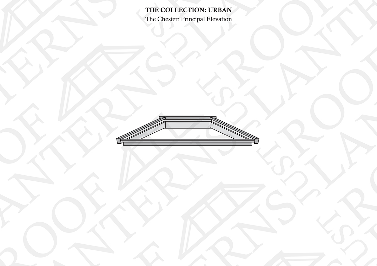 Principal Elevation of The Chester Roof Lantern