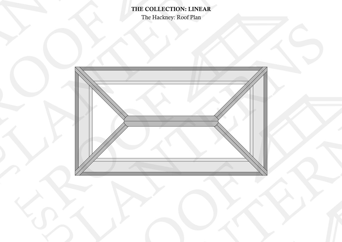 Roof Plan of The Hackney Roof Lantern