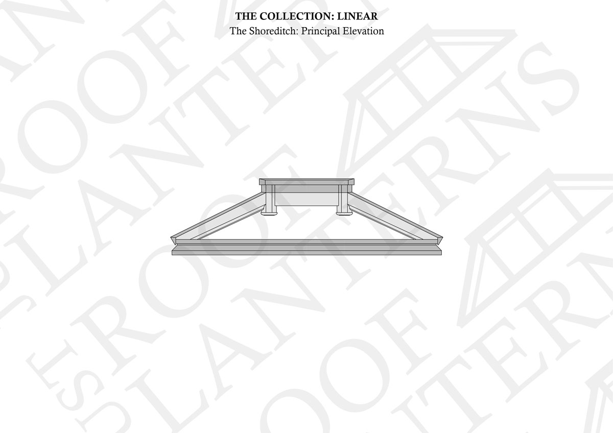 Principal Elevation of The Shoreditch Roof Lantern