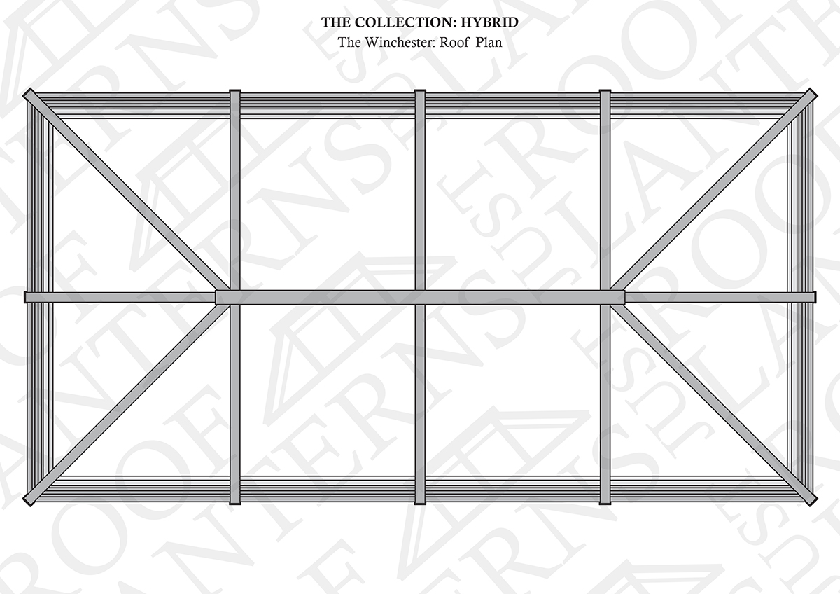Roof Plan of The Winchester Roof Lantern