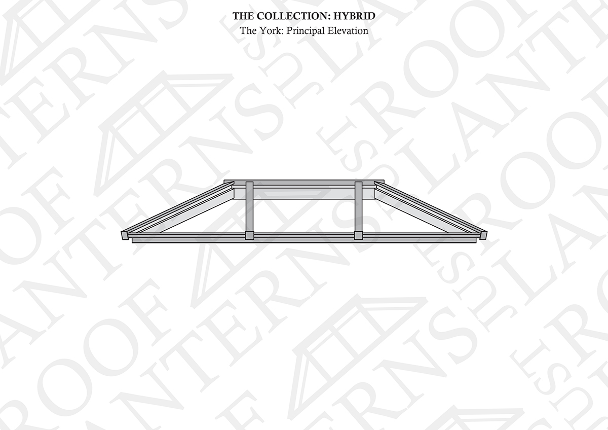 Principal Elevation of The York Roof Lantern