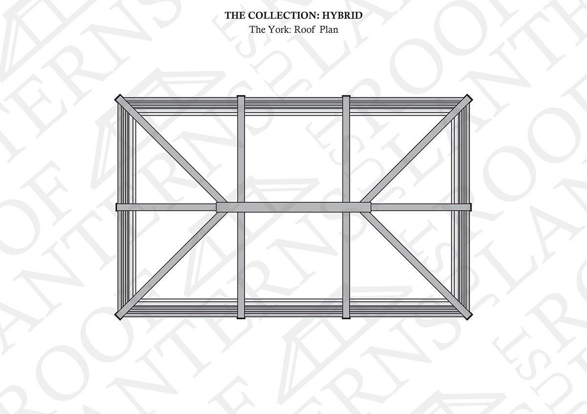 Roof Plan of The York Roof Lantern