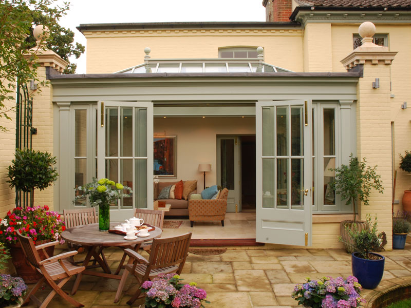 A beautiful orangery extension