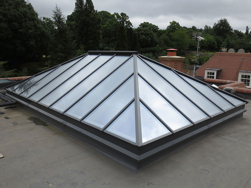 Roof lantern measuring 5170mm x 3420mm