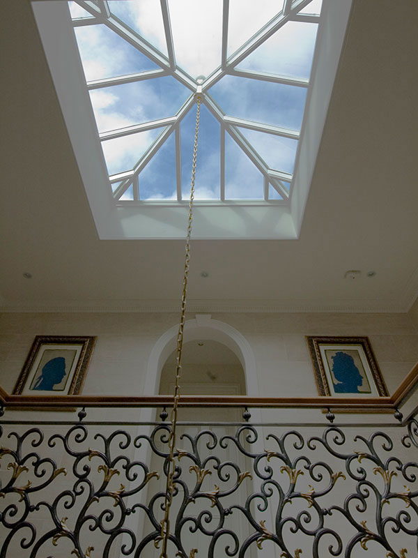 Roof lantern measuring 1900mm x 1900mm