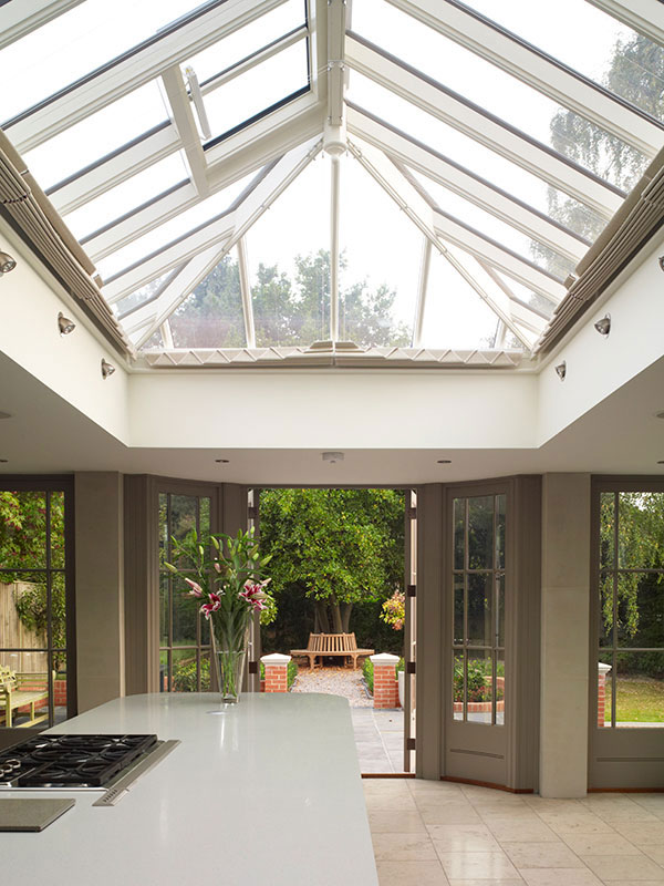 Roof lantern measuring 5200mm x 2600mm