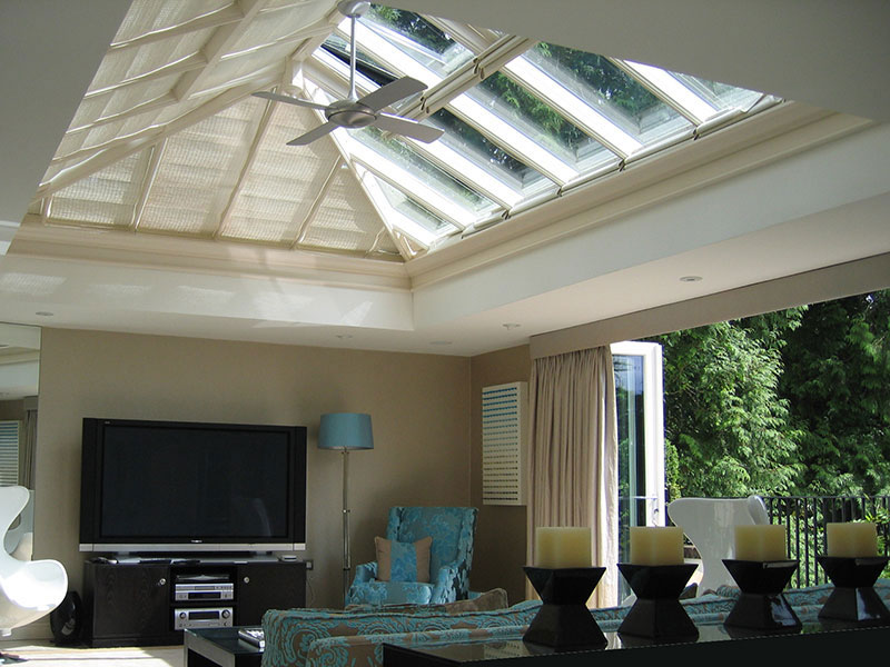 Roof lantern measuring 4906mm x 3123mm