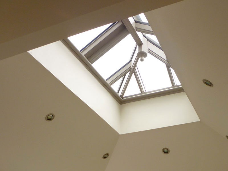 Roof lantern measuring 2400mm x 1000mm