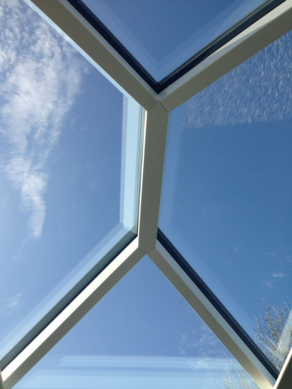 Roof lantern measuring 1500mm x 1000mm