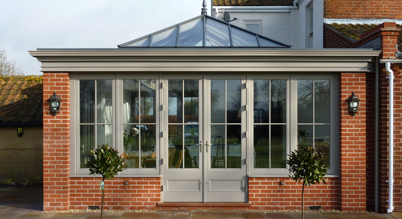 An example of an orangery extension