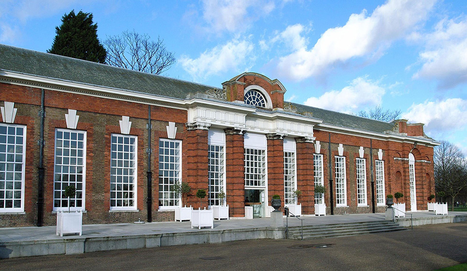 The orangery at Kensington Palace (1761)