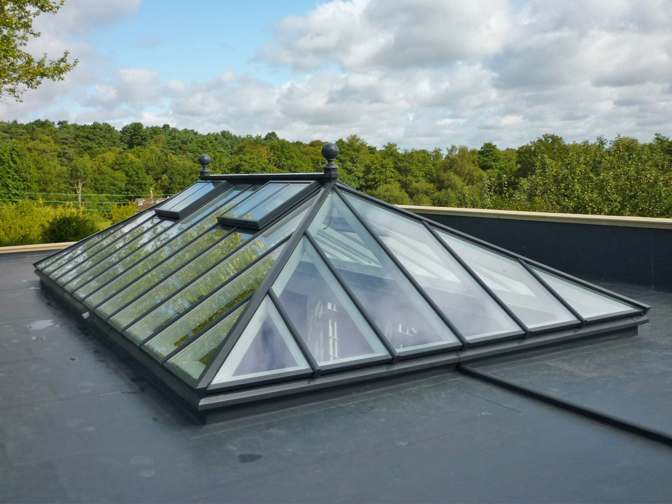 Large made to measure roof lantern