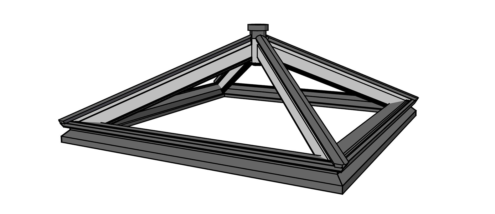 Just Roof Lanterns Linear Collection of Roof Lanterns