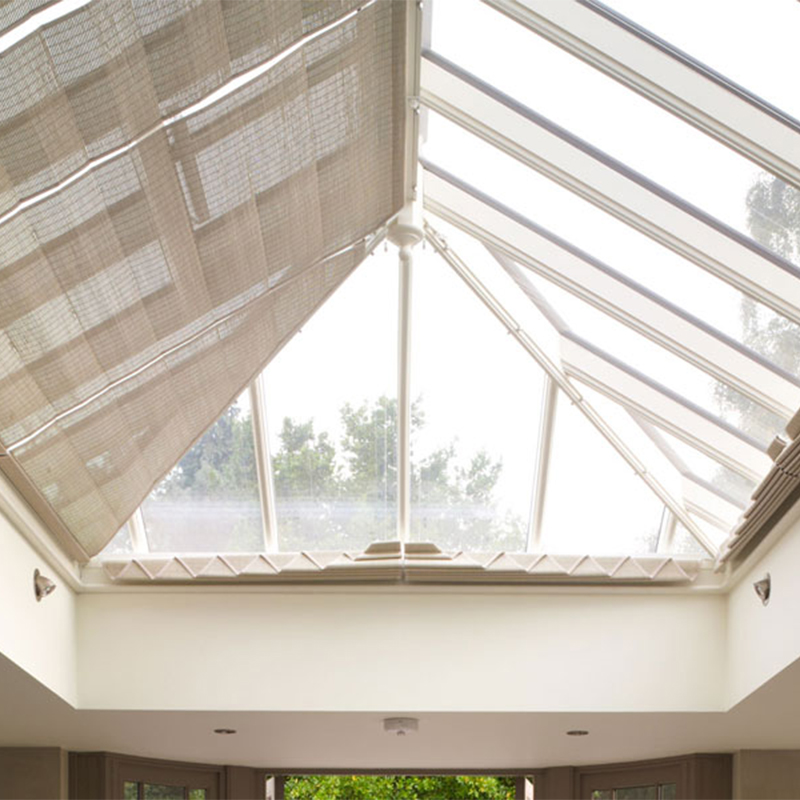 Pinoleum blinds for roof lanterns in the Classic range