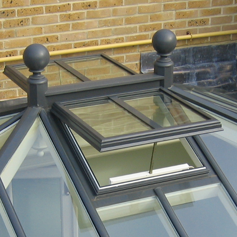 Ventilation options for Classic roof lanterns