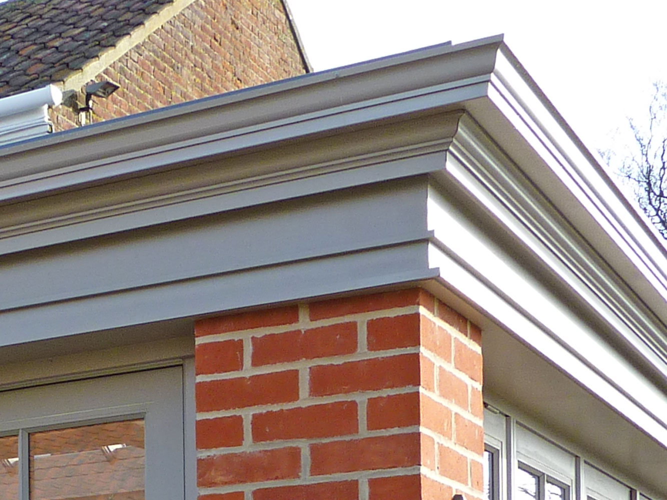 Decorative fascia trim for Architectural trim
