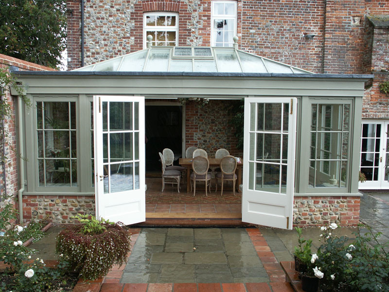 An example of an orangery today