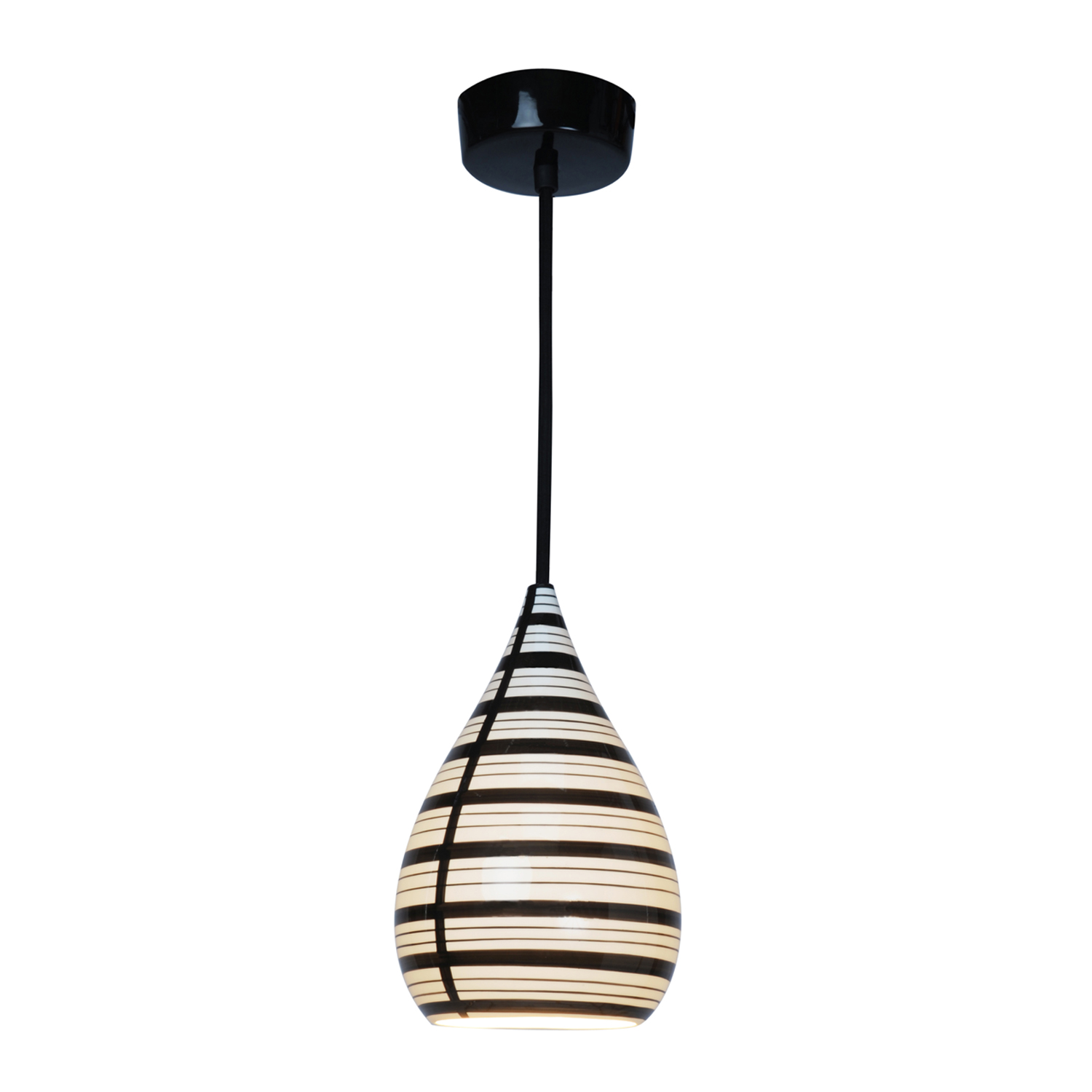 Circle Line Drop Pendant Light