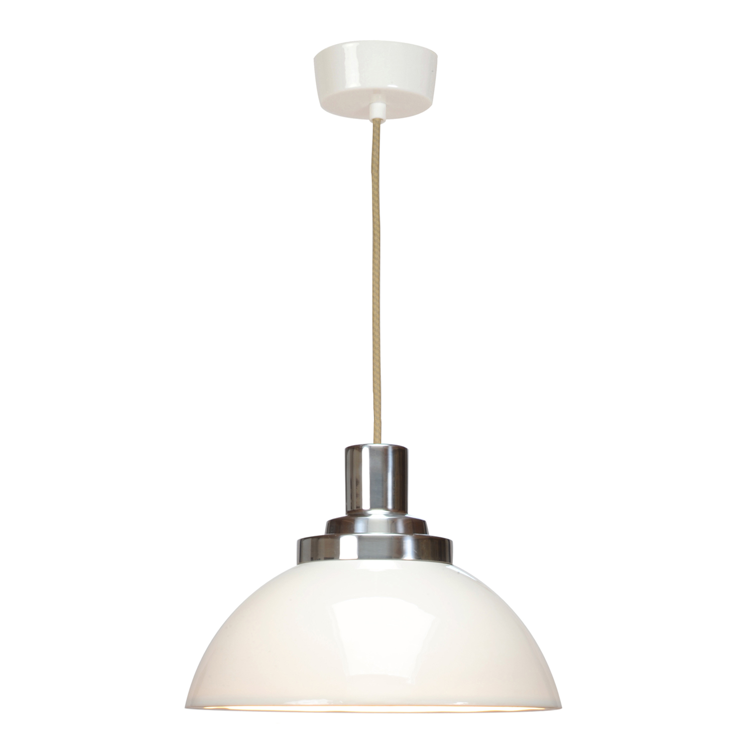 Cosmo Pendant Light, White