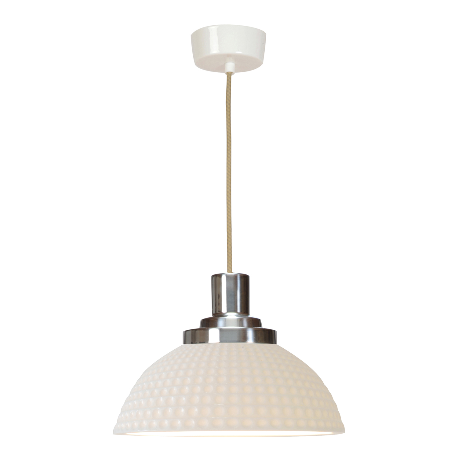Cosmo Dimpled Pendant Light