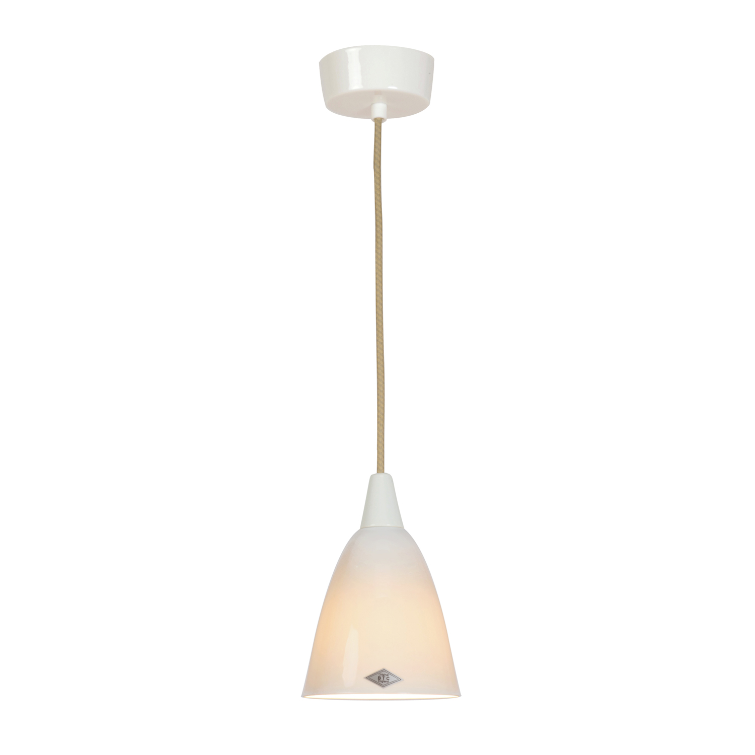 Hector Size 1 Pendant Light, Natural1