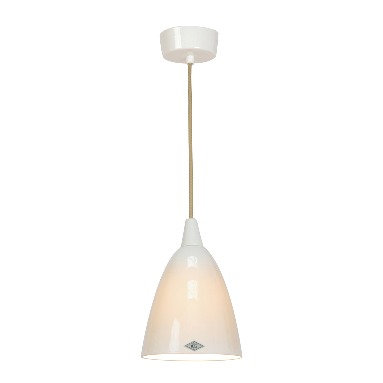 Hector Size 2 Pendant Light, Natural