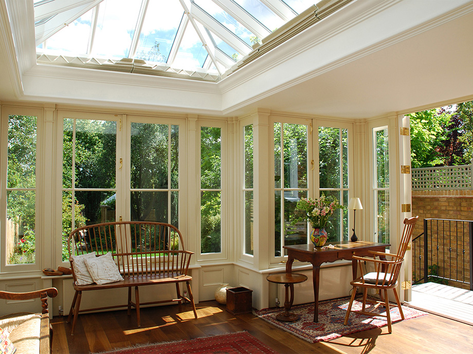 Stunning bespoke roof lantern as part of an orangery extension