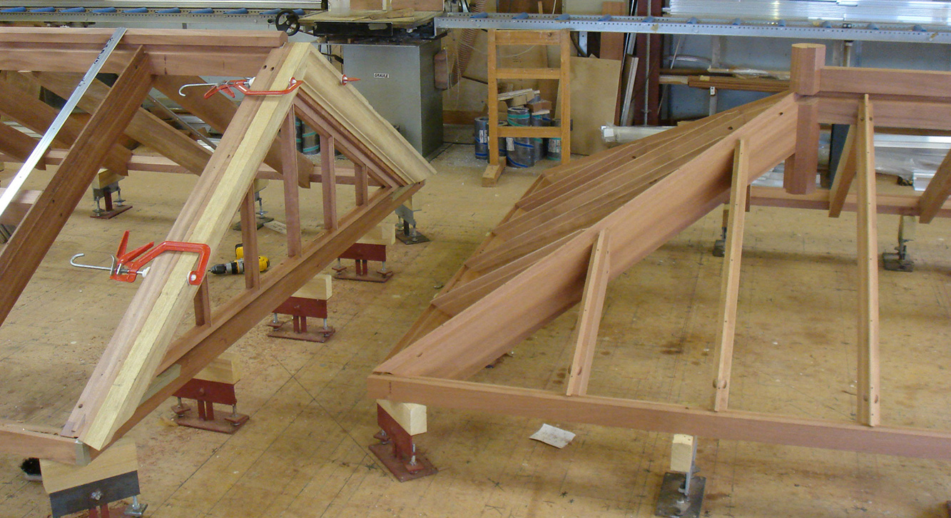Roof lanterns in manufacture
