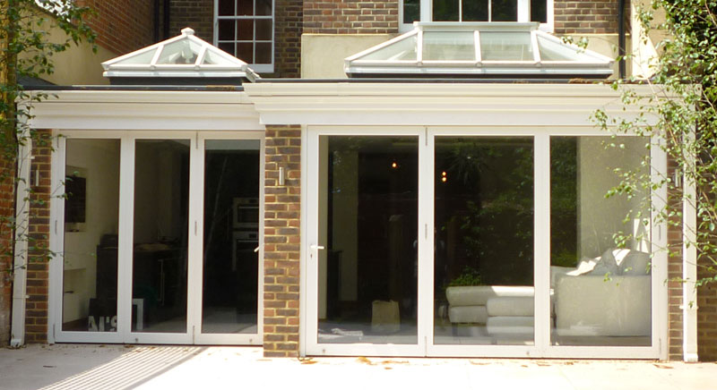 Stunning roof lantern project featuring 3 roof lanterns